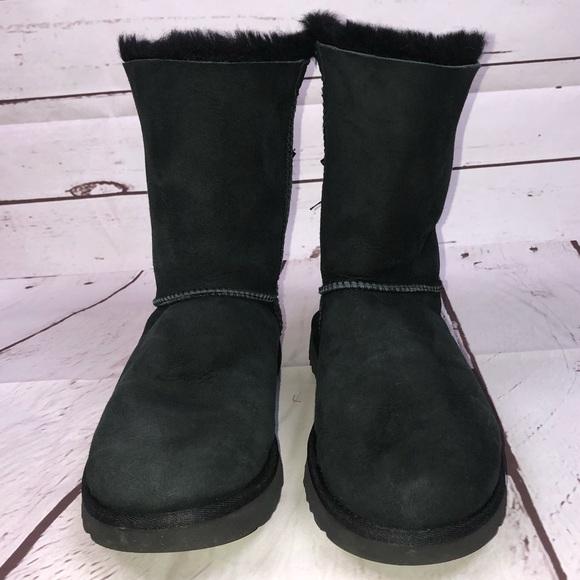 a1682dfbcfa Women's Black Bailey Bow II UGG Size 8 Boots